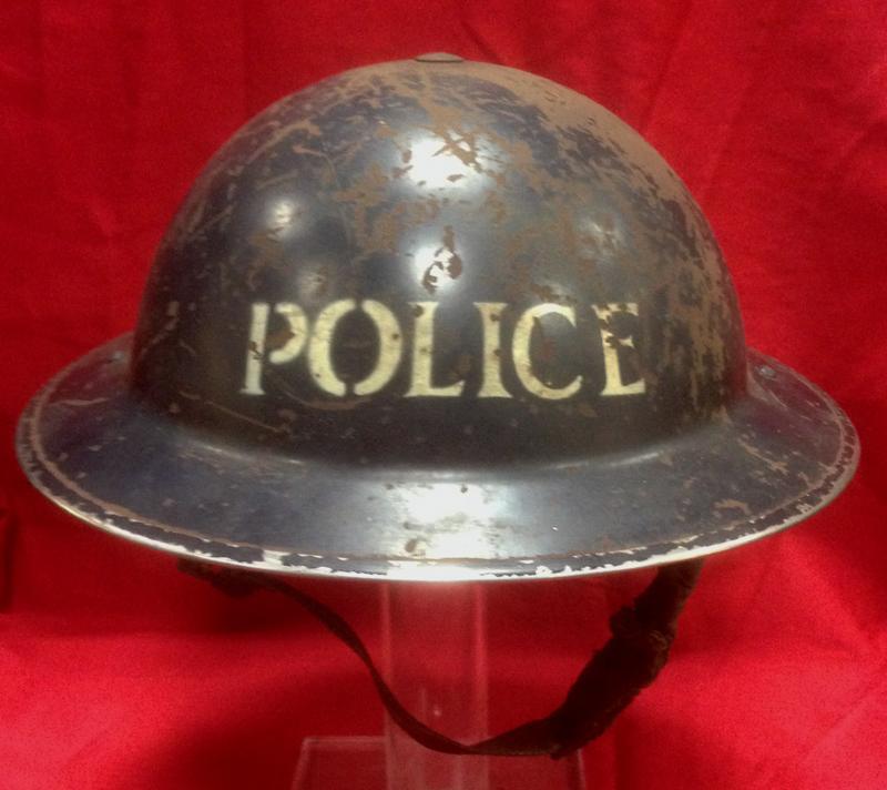 British WW1/WW2 Brodie Helmet Maker Stamps - Helmets and Headgear