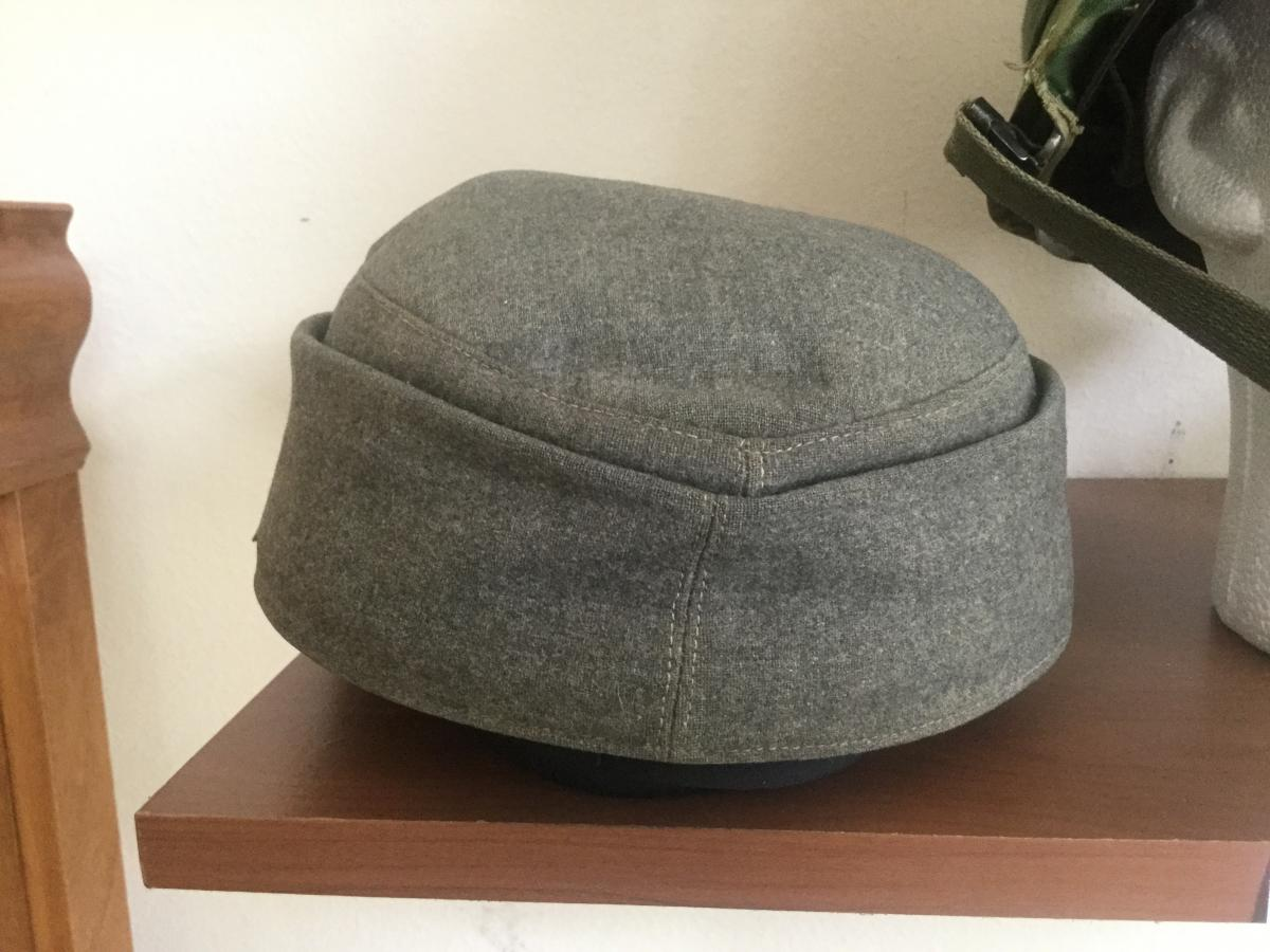 Post War? M43 Cap With Austrian Ww1 Insignia?? What The
