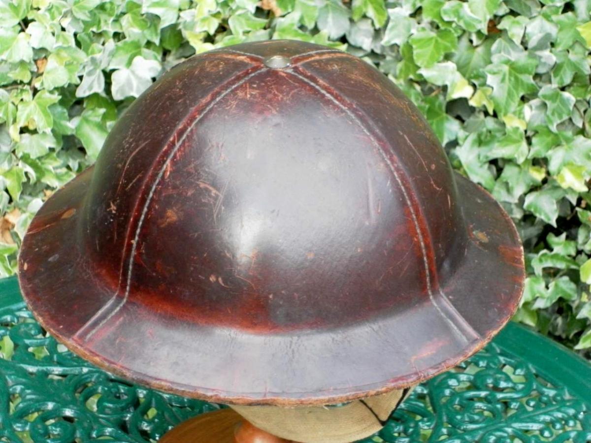 British WW1/WW2 Brodie Helmet Maker Stamps - Helmets and