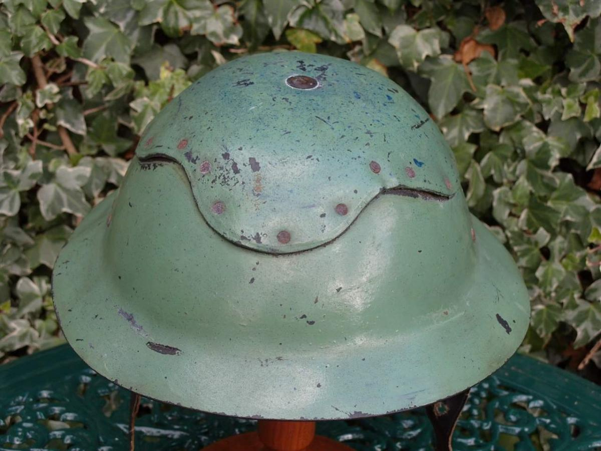 British Ww1ww2 Brodie Helmet Maker Stamps Helmets And Headgear