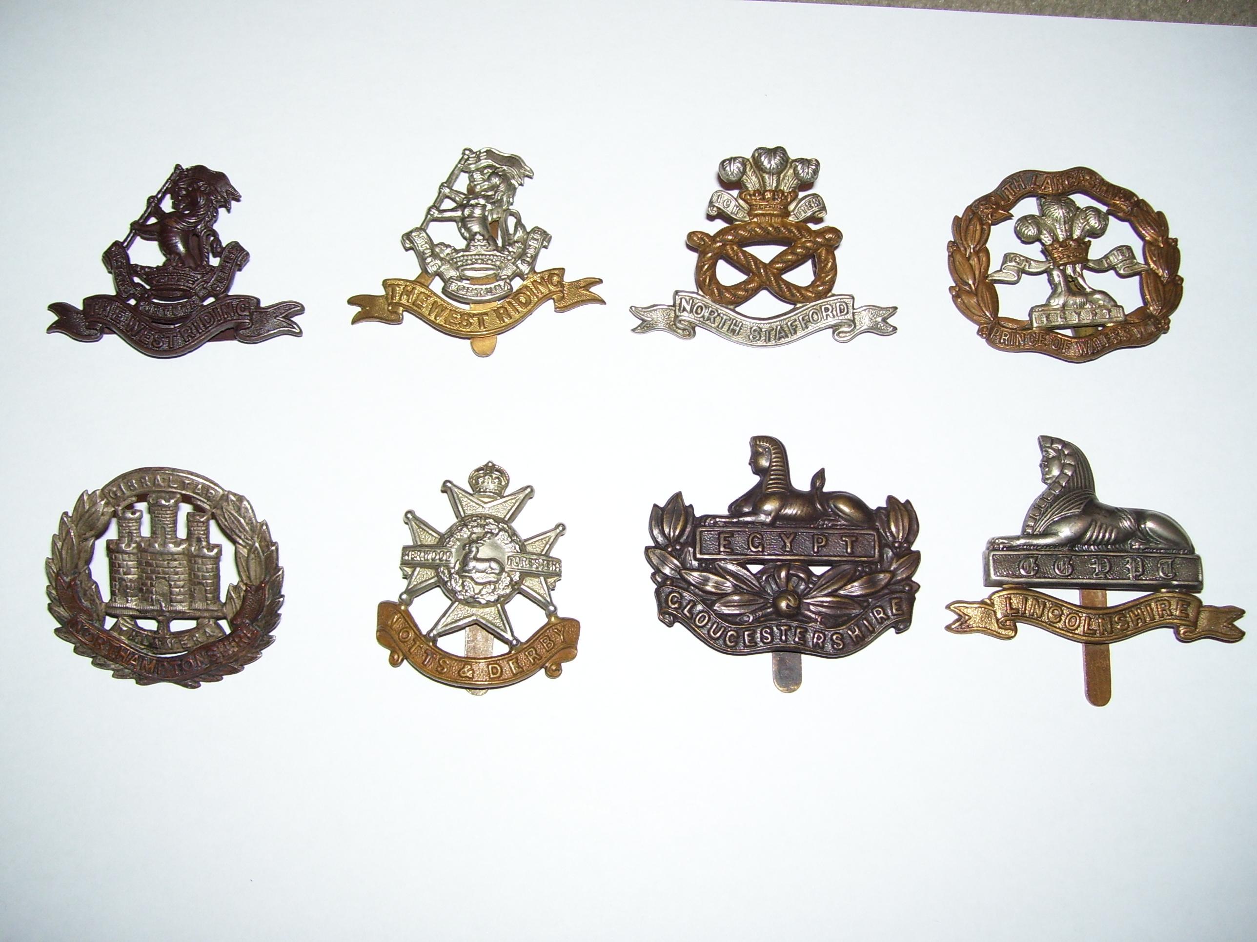 British Uniform Insignia and Badges, till 1945 - Uniforms