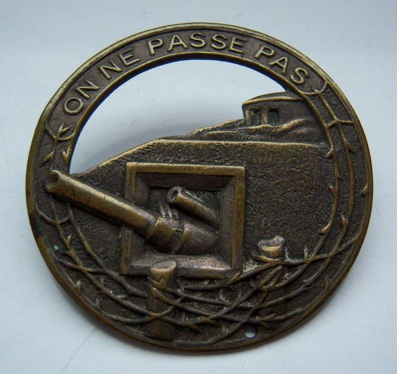 Maginot Line Badge.JPG