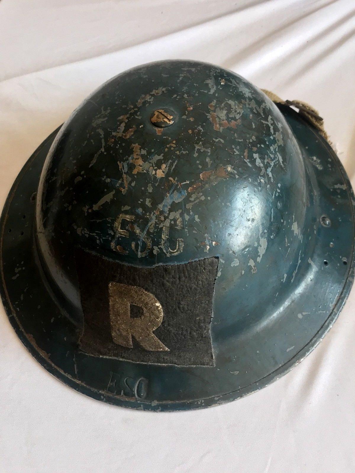 British WW1/WW2 Brodie Helmet Maker Stamps - Page 4 - Helmets and