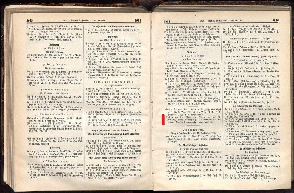 Teixera,de Mattons Militär--Wochenblatt Nr. 167-168 vom 21 September 1915.jpg