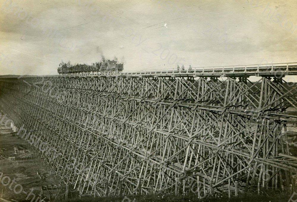 Hindenburgo tiltas per Dubysą Lyduvėnuose 1916 m......jpg