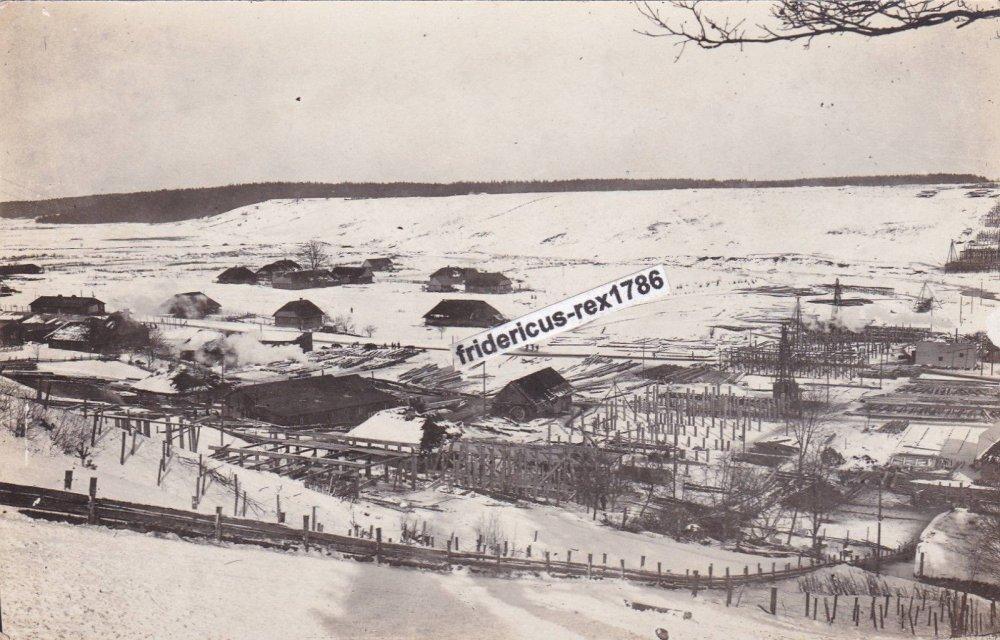 Medinio geležinkelio tilto statyba per Dubysą Lyduvėnuose 1916 m..jpg