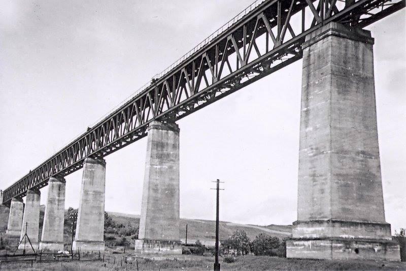 Plieninis Lyduvėnų tiltas, pastatytas 1918 m., vaizdas iki 1940 m..jpg