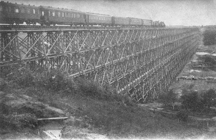 Hindenburgo tiltas per Dubysą Lyduvėnuose. 1916 m..jpg