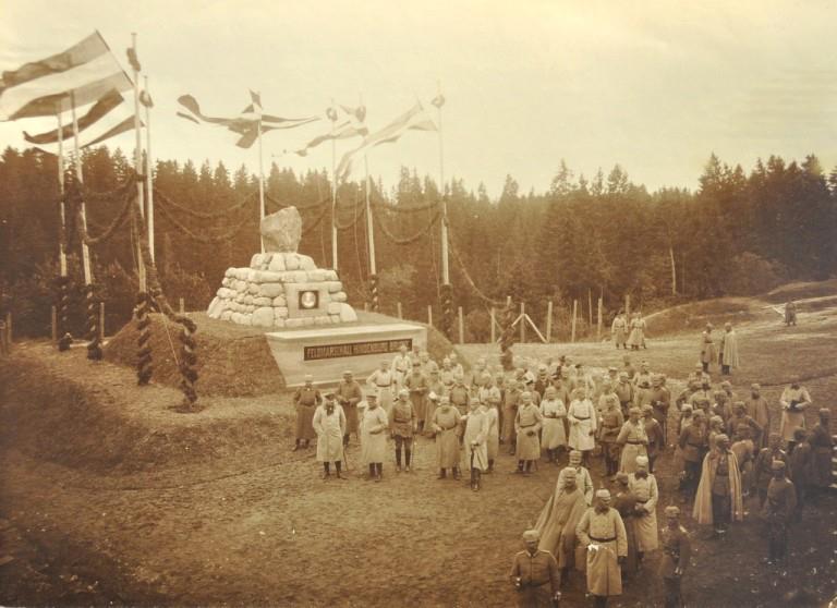 Hindenburgo paminklas Lyduvėnuose 1916 m..jpg