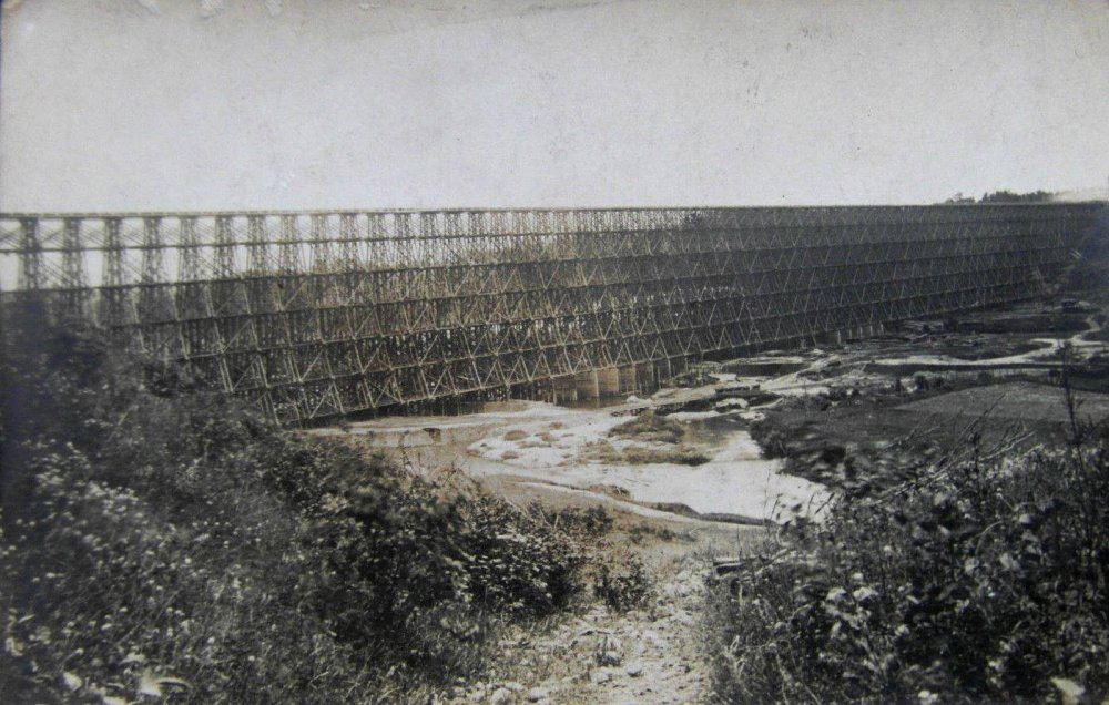 Hindenburgo tiltas per Dubysą Lyduvėnuose 1916 m........jpg