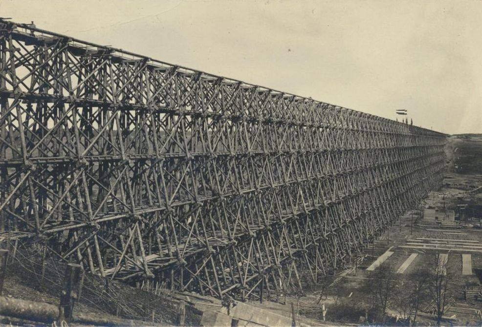 Hindenburgo vardo tiltas Lyduvėnuose. 1916 m..jpg