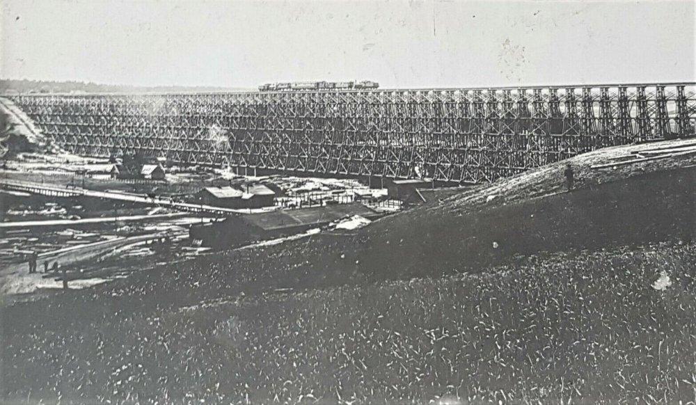 Hindenburgo tiltas per Dubysą Lyduvėnuose 1916 m................jpg