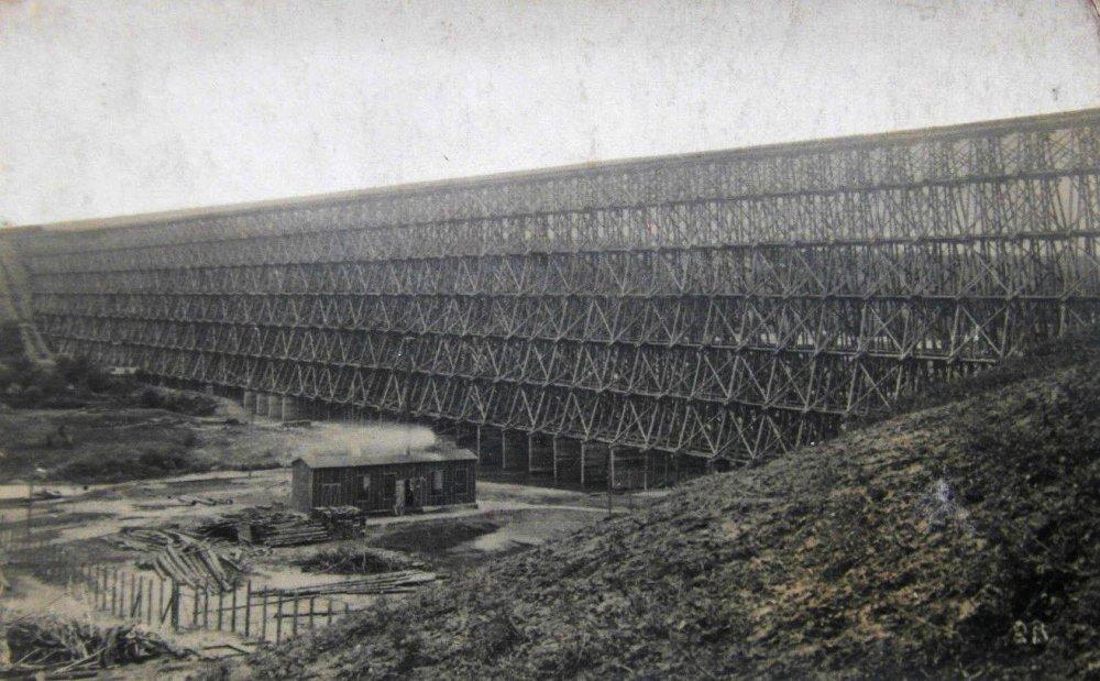 Hindenburgo tiltas per Dubysą Lyduvėnuose 1916 m...........jpg